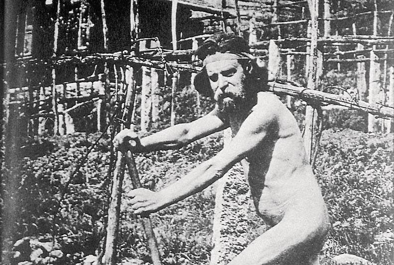 Auch Nudismus war ein wichtiger Punkt des Sanatorium-Heilprogramms