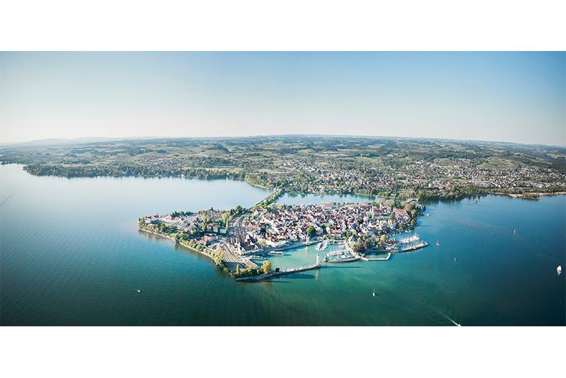 Lindau Insel-Sued-Panorama_Fotocredit_Fotograf Hari Pulko_Lindau Tourismus