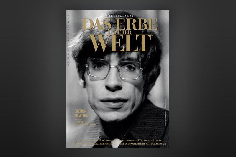 Stephen Hawking heading image