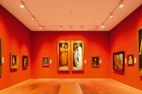 Der Dürer-Saal mit historischen Kopien von Dürers wichtigsten Gemälden.