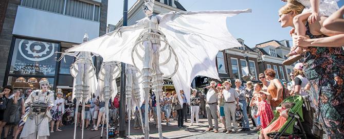 Fries Straatfestival in Leeuwarden.